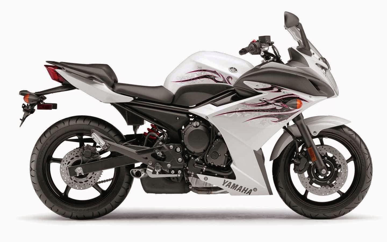 Yamaha fz6r White