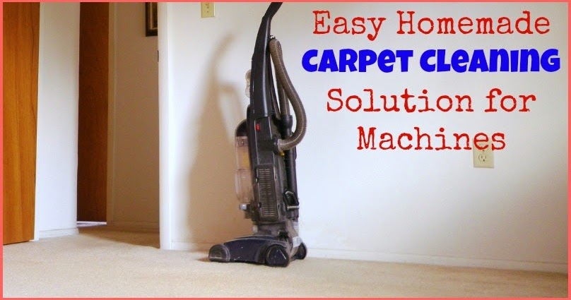 Awesome Real Food Recipes Easy Homemade Carpet Cleaning
