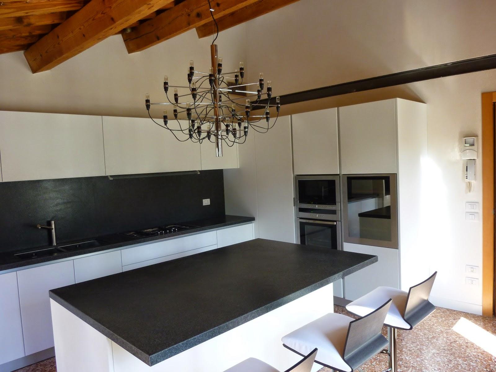 Top cucina nero assoluto: piano cucina materiali. simple top cucina