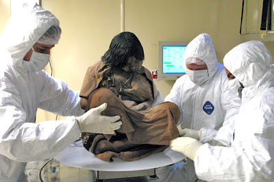 Inca Mummy - Inca Girl, Frozen for 500 years (Argentina)