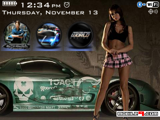 Tema BlackBerry 8520 NFS most wanted Download Tema BlackBerry 8520 Gratis 2012