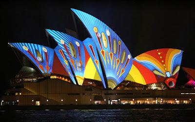 Vivid Festival Sidney Opera House Wallpapers