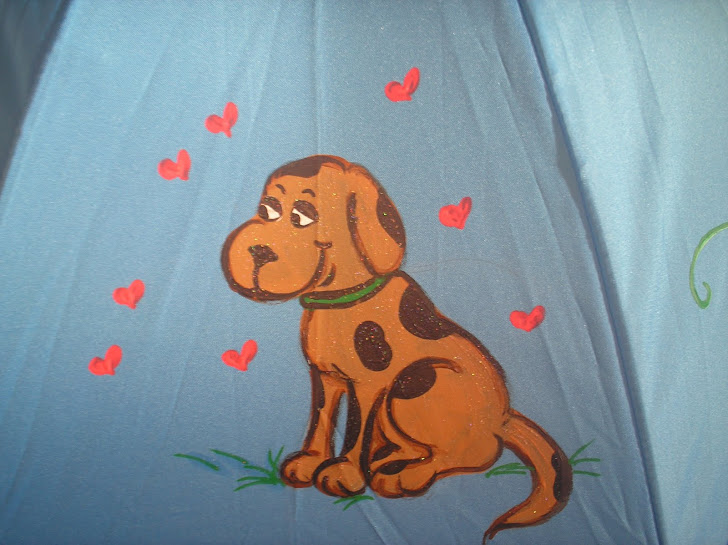 doggy with brown spots