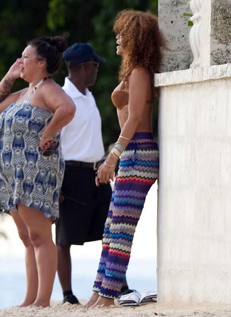 Rihanna – Bikini Candids in Barbados