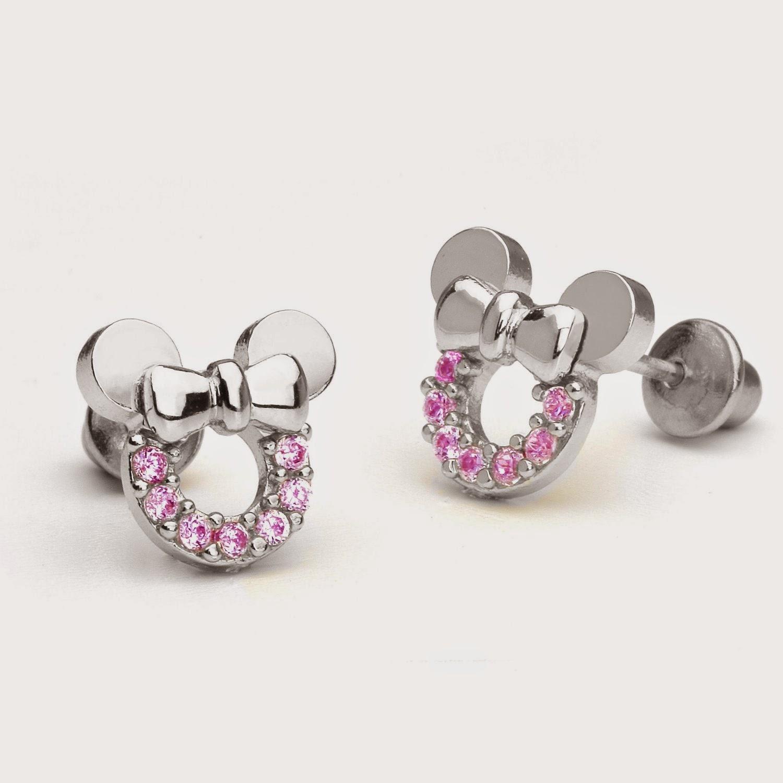 Diamond Earrings For A Sweet Baby Girl Creative Young People