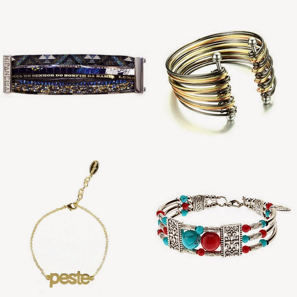 wishlist, bracelet, hipanema, felicie, manchette, bullelodie