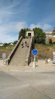 46 trappen tot aan de stadspoort