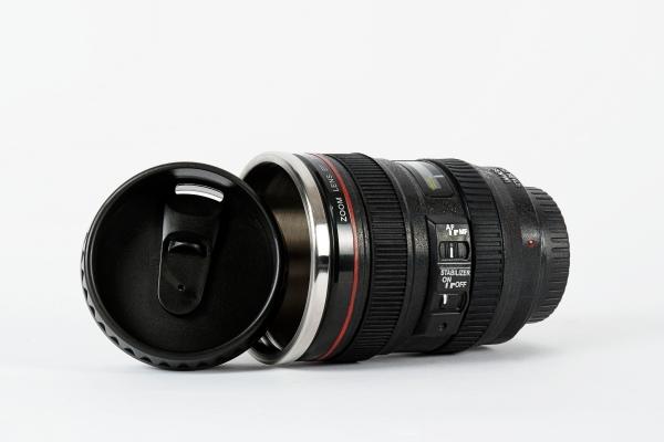 Canon Camera Lens Shaped Mugs Icreatived