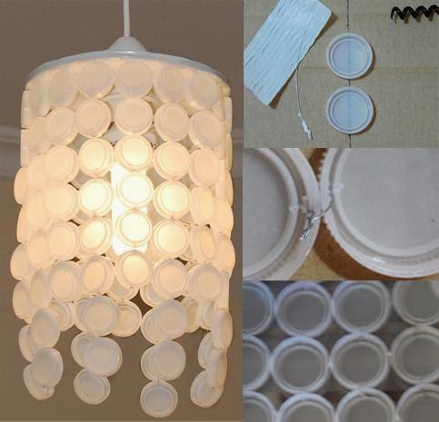 artesanato feito com tampinhas reciclagem
