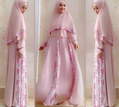 Model Baju Muslimah Syar'i Ala Lyra Virna