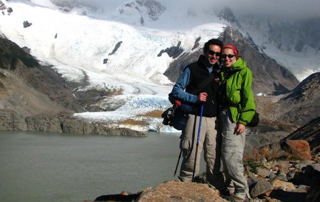 laguna torre glacier el chalten hiking