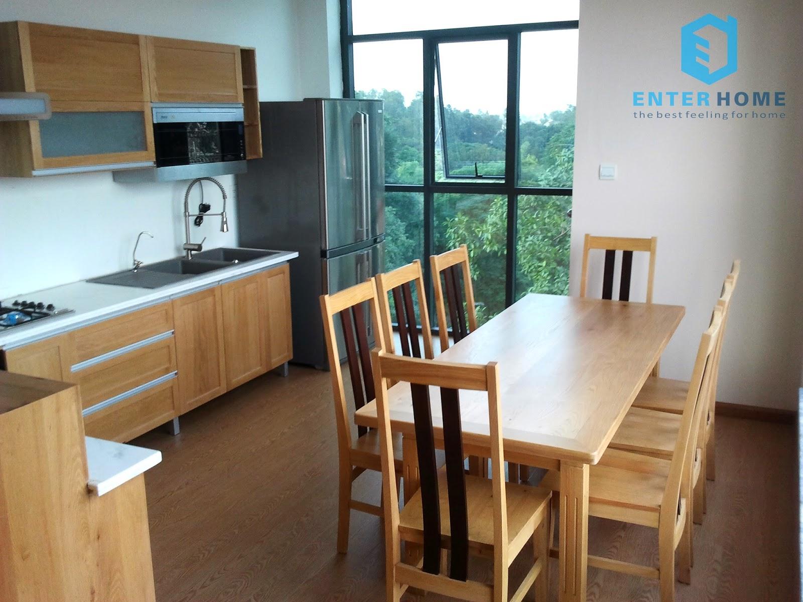 Thiết kế tủ bếp và bàn ăn giá rẻ từ liêm