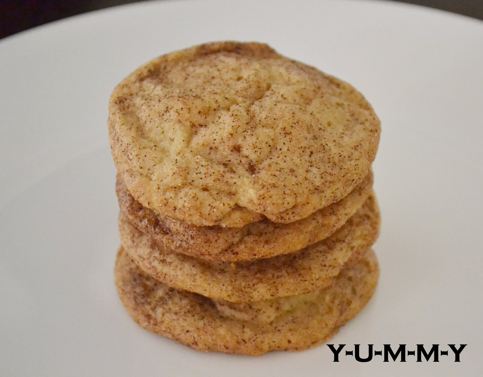Y-U-M-M-Y: Cinnamon Sugar Butter Cookies
