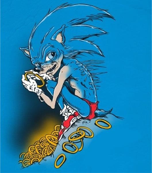 Sonic se ha corrompido por sus anillos