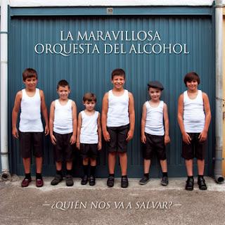 La Maravillosa Orquesta del Alcohol ¿Quien nos va a salvar portada disco