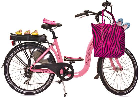 Bicicleta eléctrica Pretty Ballerinas por Yamimoto Electric Bike