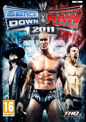 WWE Smackdown vs Raw 2011 couverture