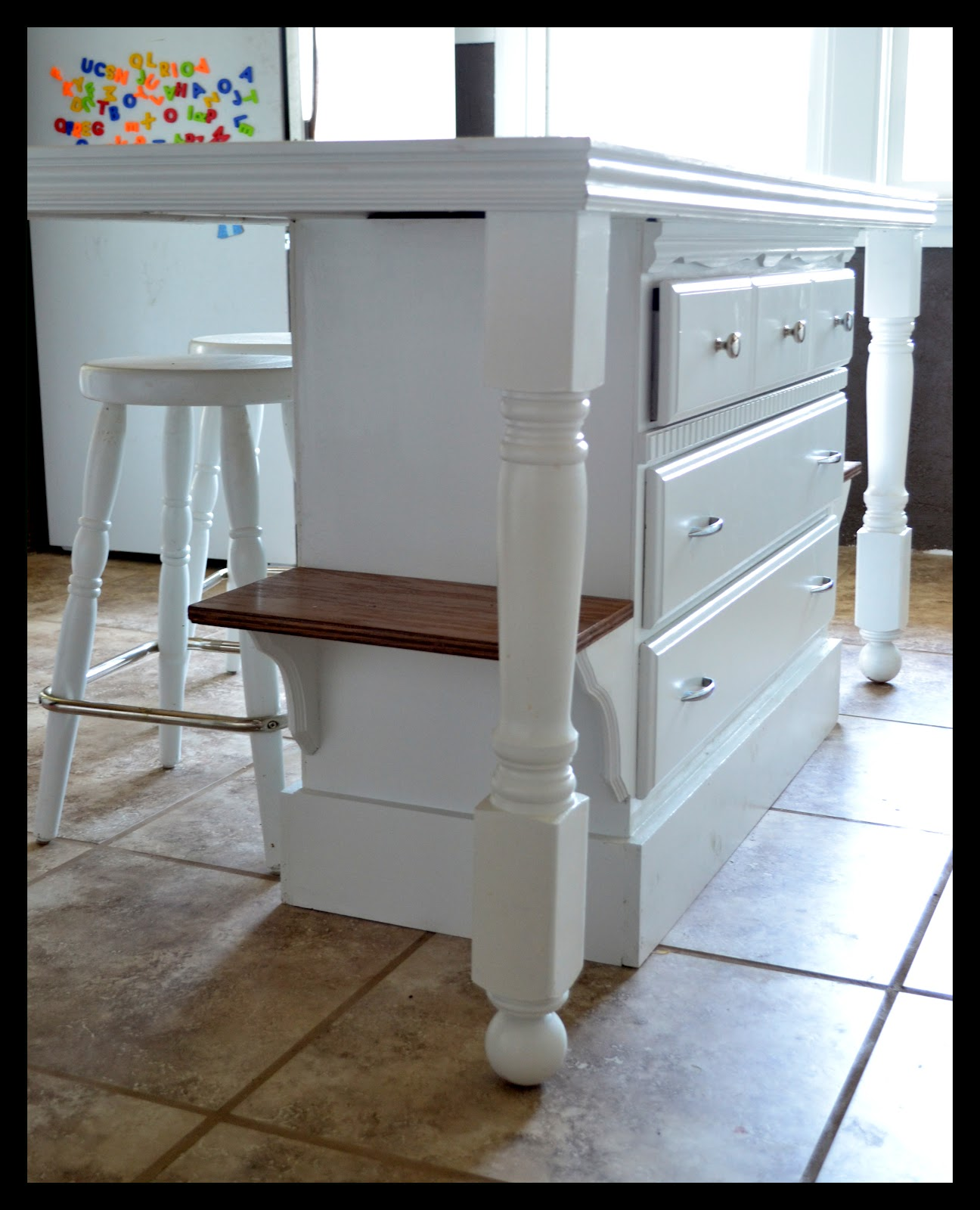 Kitchen Islands For Small Kitchens: Small Town Small Budget: Custom Kitchen Island