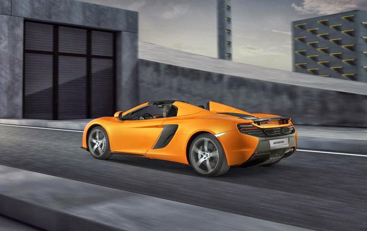 2014 McLaren 650S Spider