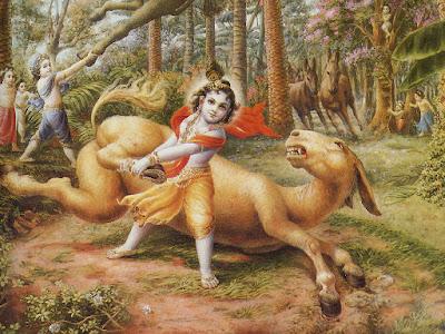dhenukasura killed by balaram