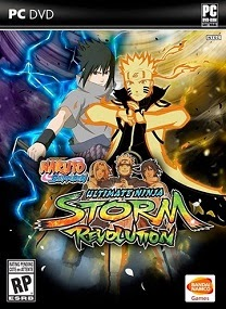 Naruto Shippuden Ultimate Ninja Storm Revolution-CODEX Terbaru 2015 cover