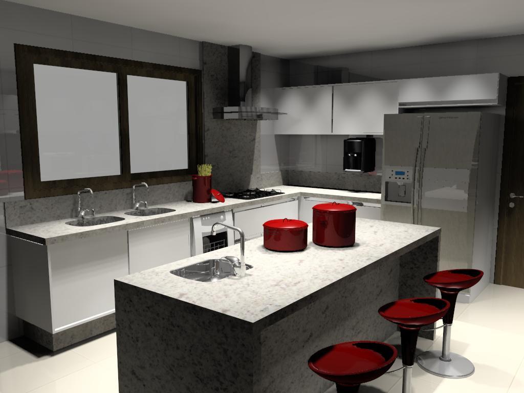 #B31818 DESIGNER: COZINHAS 1024x768 px Designer Cozinha Idéias_1063 Imagens