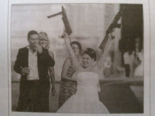 Trigger Happy Bride