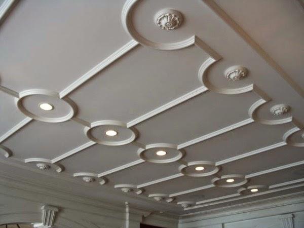 idées moulages plafonds