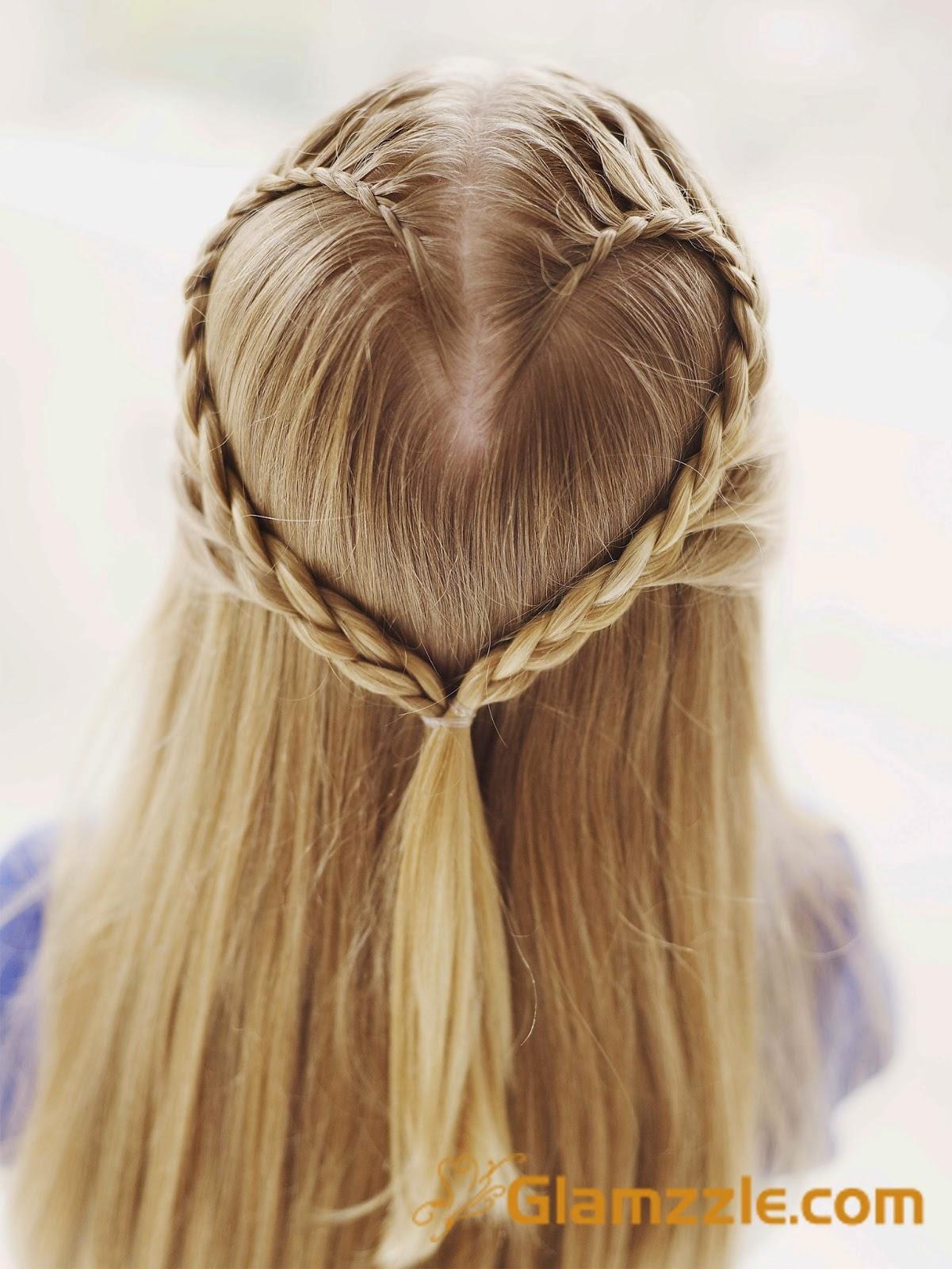 Gaya Rambut Di Kepang