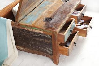 luxusny stolik z masivu, masivny stolik z dreva