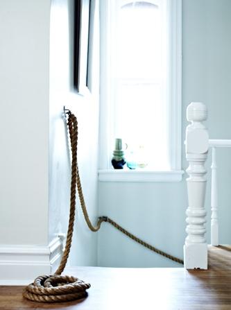 diy rope railing
