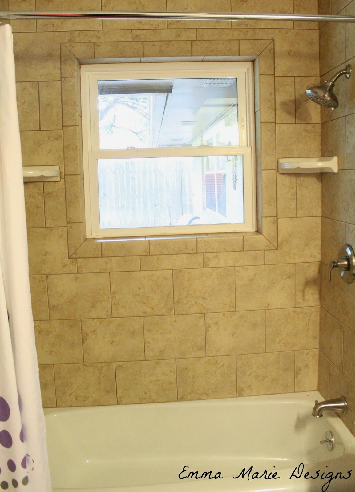 Bedrooms and hall bathroom tour emma marie designs for Hallway bathroom ideas