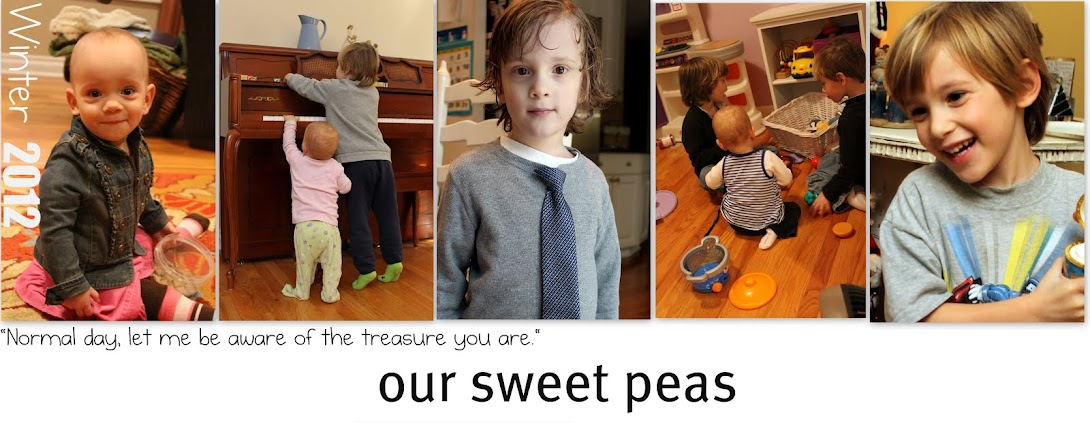 Our Sweet Peas