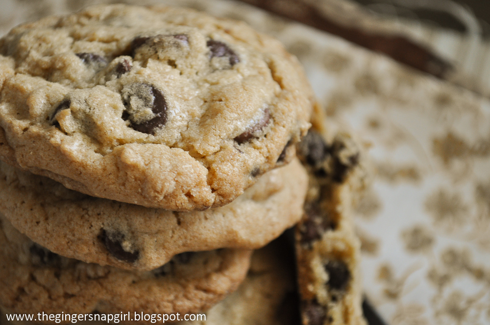 The Ginger Snap Girl: New York Times Chocolate Chip Cookies