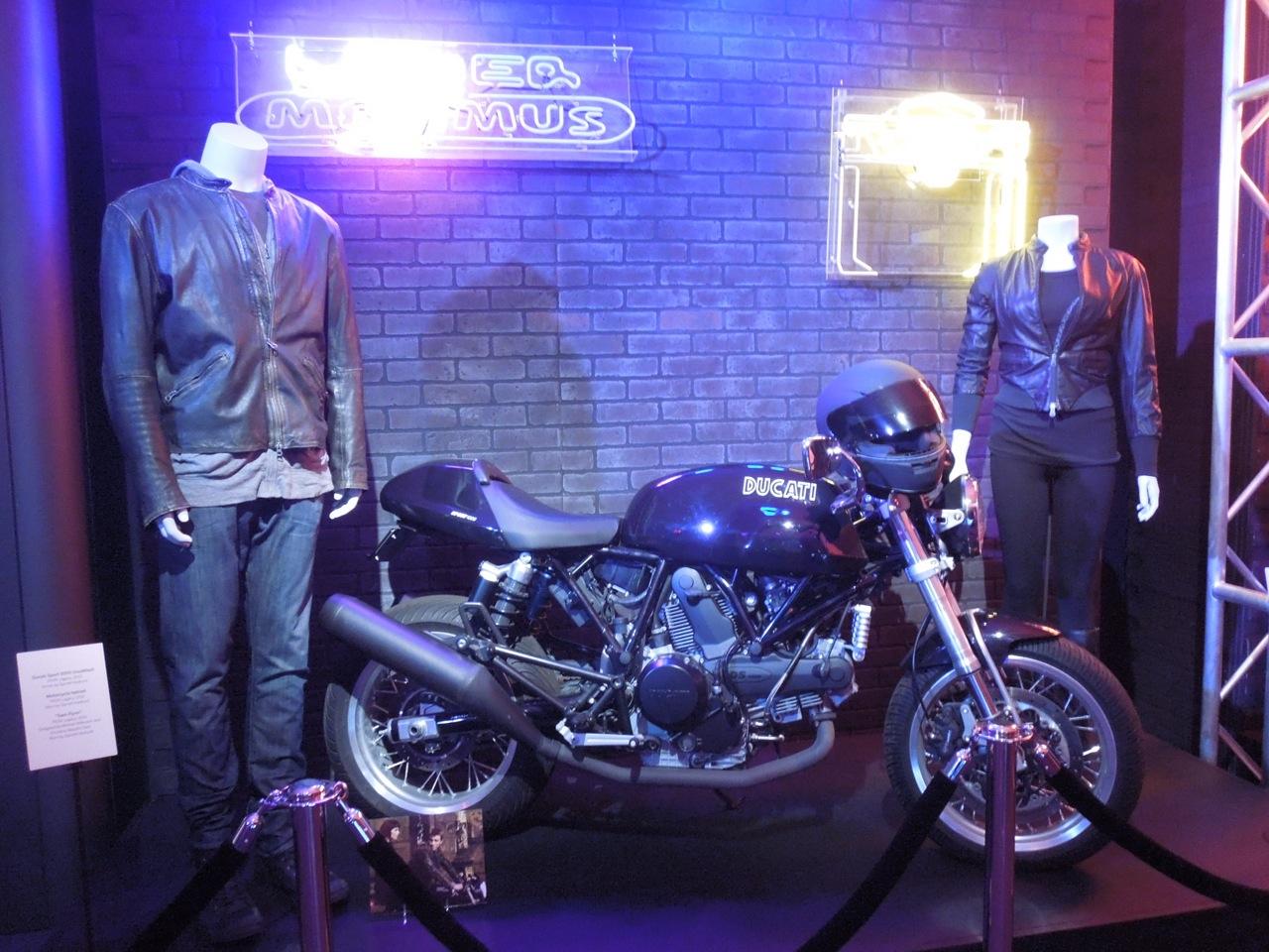 Garrett Hedlund Tron Motorcycle Hollywood Movie Costum...