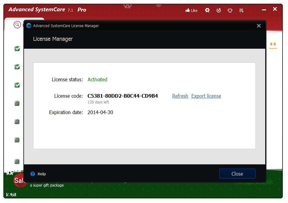 Advanced Systemcare 9 + лицензионный ключ - Softpick2