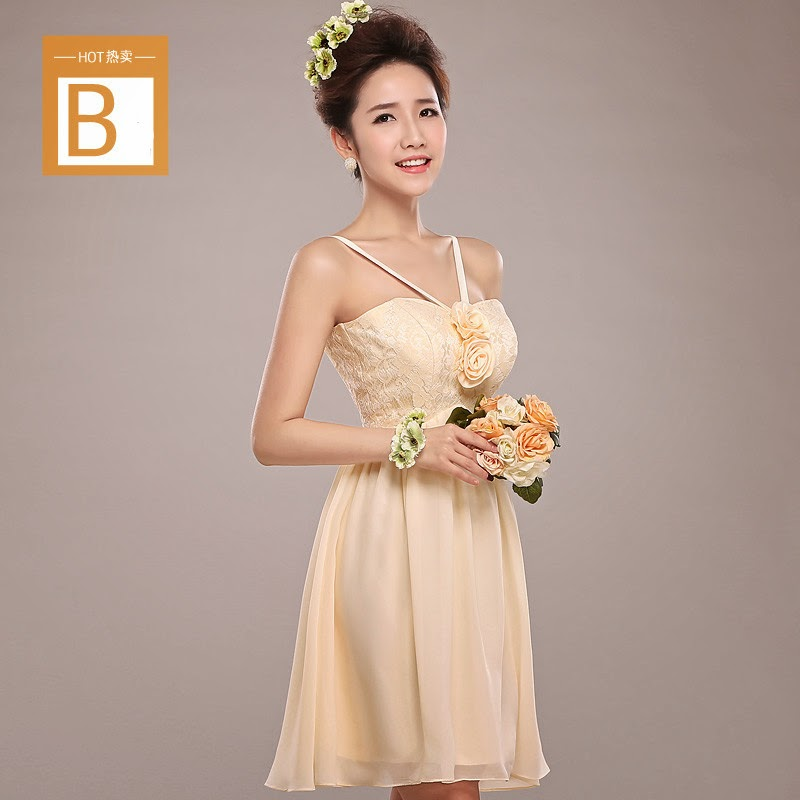 champagne coloured dress malaysia
