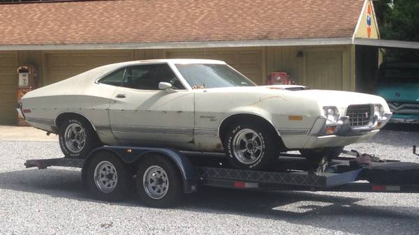 1972 Torino Gt Sports Roof Fastback Buy American Muscle Car