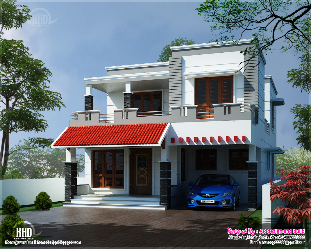 Modern House Elevation In 2700 Kerala Home Design And Floor Plans