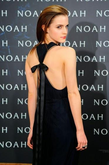 Emma Watson hot backless hd wallpapers