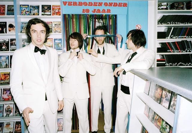 soulwax tuxedo suits white