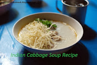 Indian Cabbage Soup Recipe