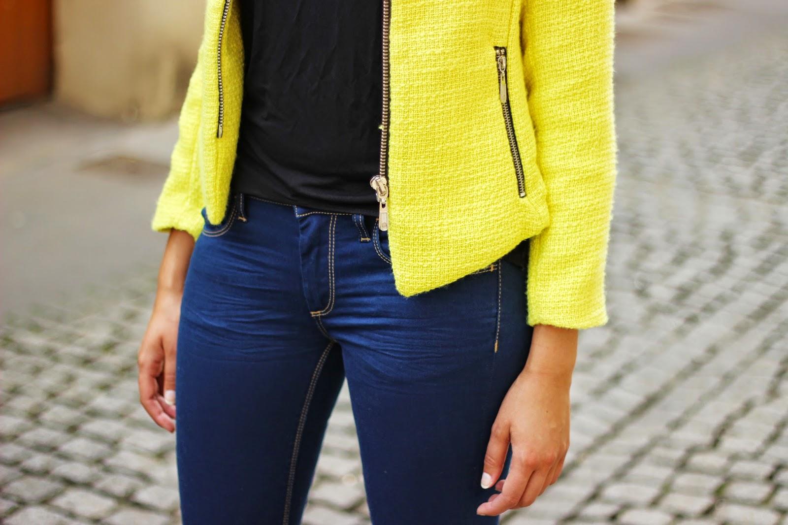 Veste jaune le temps des cerises
