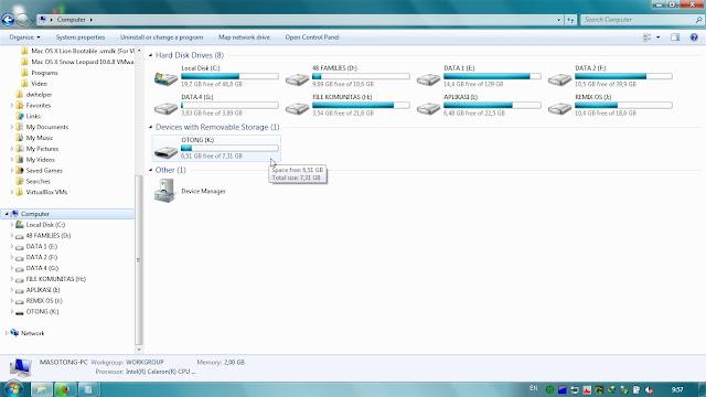 Cara Instal Remix OS Via USB Flashdisk (Portable)
