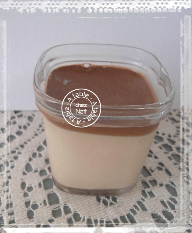 yaourts au chocolat aux oeufs