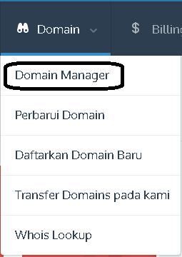 cara membuat sub domain