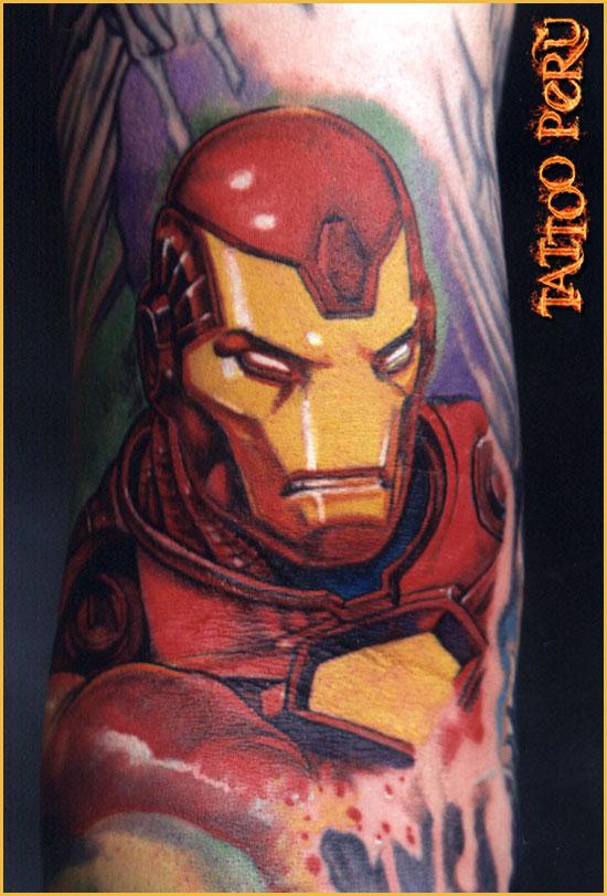¿En que parte del Cuerpo se puede Tatuar?. 01_iron_man_tattoo