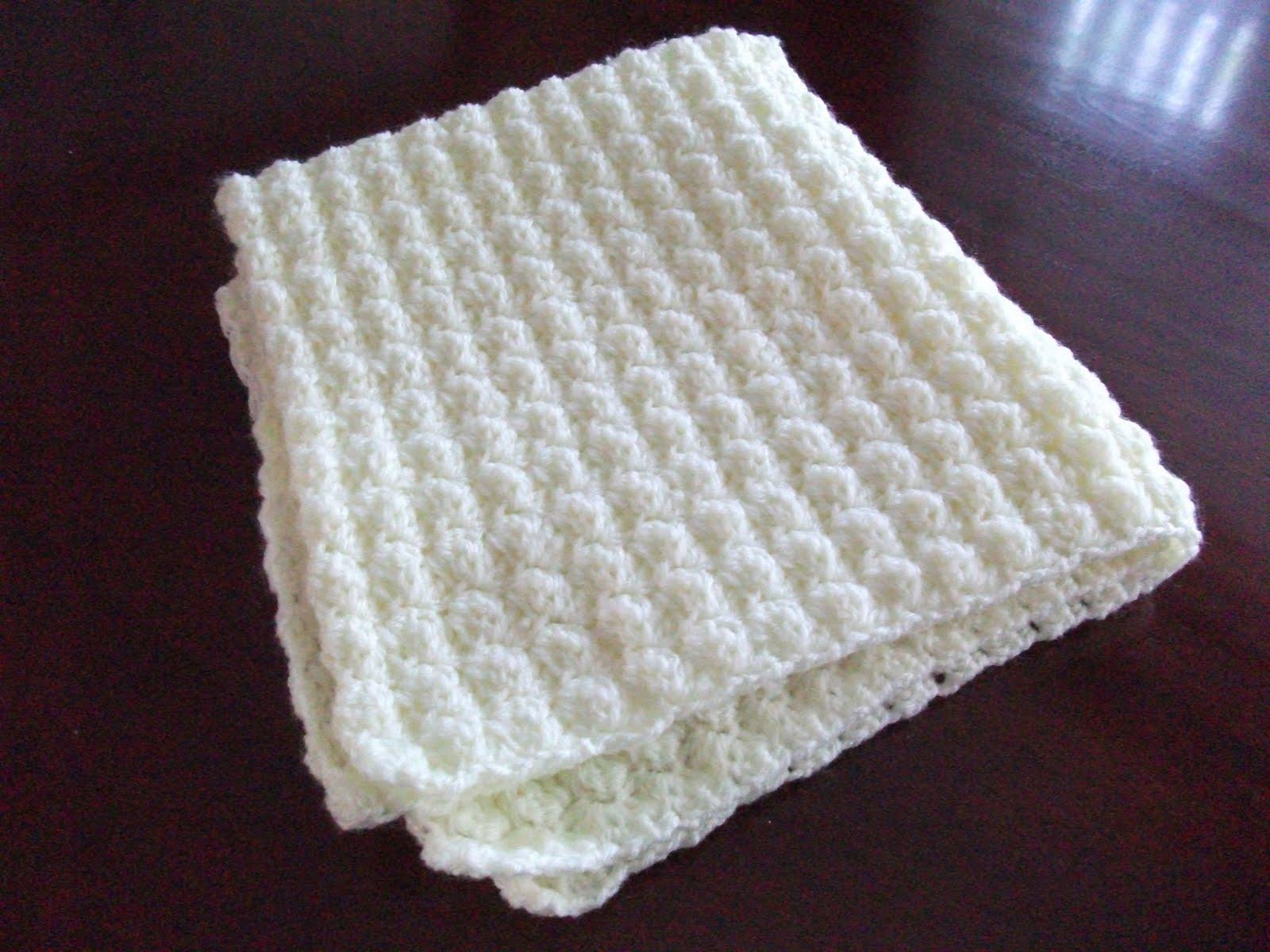 .Lindas Crafty Corner: Bubbles Baby Blanket
