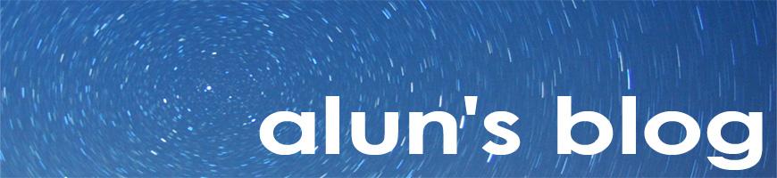 Alun's blog