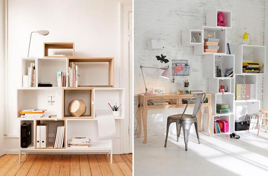 Blog de mbar muebles decorar con cubos es tendencia en 2015 for Mueble de 5 repisas